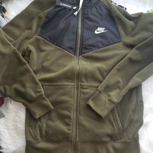 Nike Hike Green Hoodie Jacket